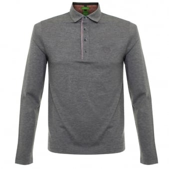 Boss Green C-tivoli 1 Medium Grey Polo Shirt 50320709