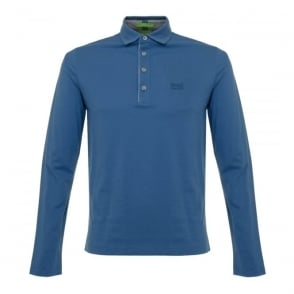 Boss Green C-tivoli 1 Open Blue Polo Shirt 50320709