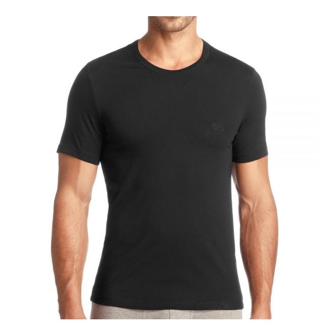 5f933f6c7 BOSS Hugo Boss 3 Pack Black Cotton T-Shirt   Stuarts London