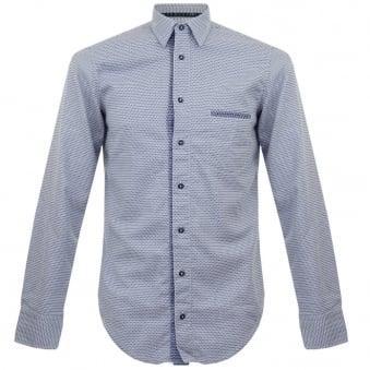 Boss Orange CieloebuE Navy Shirt 50301708