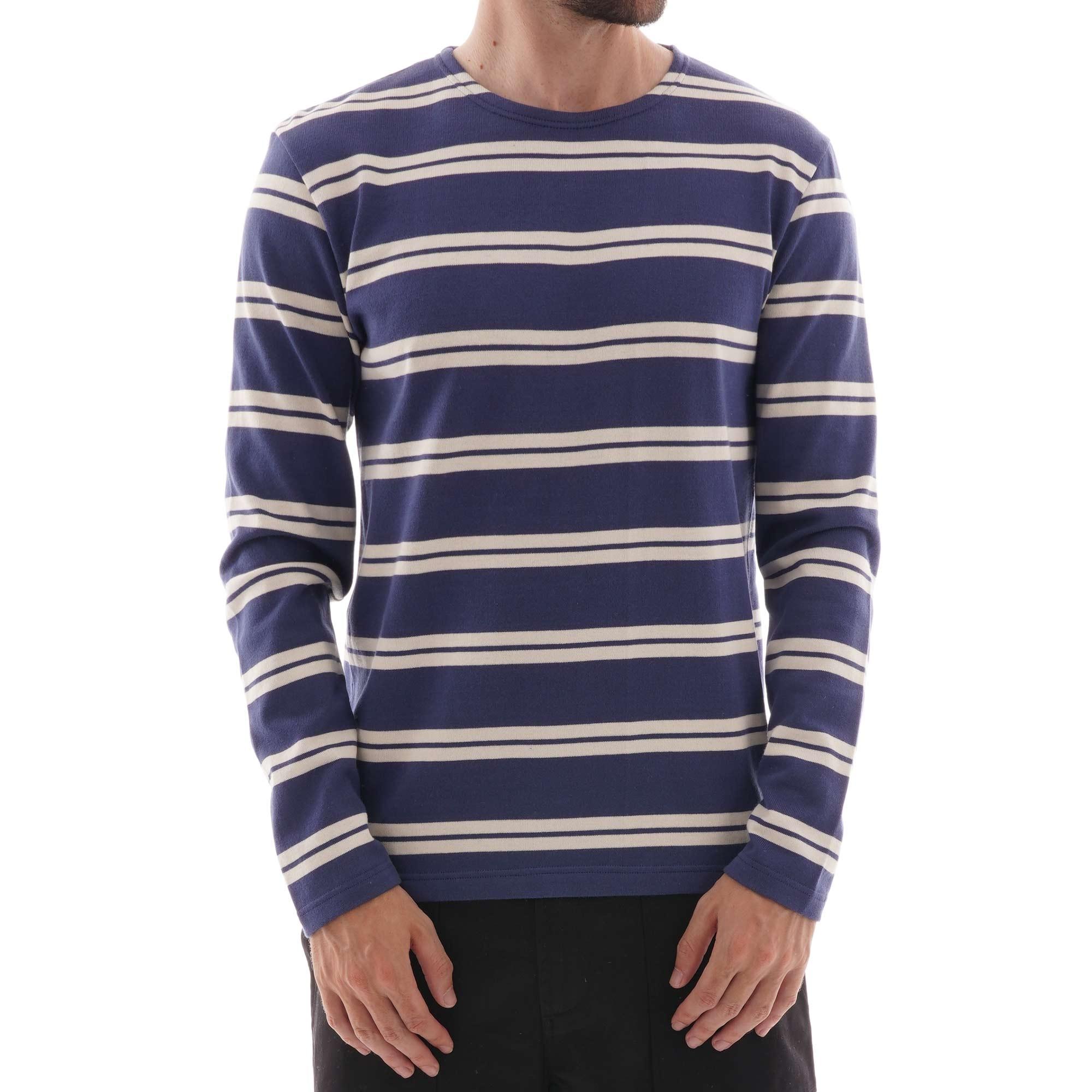 Breton Striped Sweatshirt InkNatural