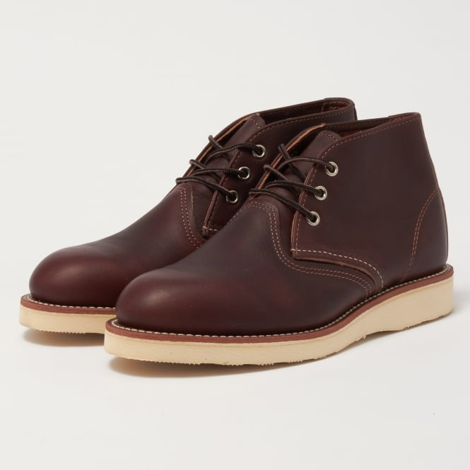 Red Wing Brown Classic Chukka Boot