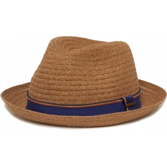 Brown Collano Diamond Player Toyo Straw Hat
