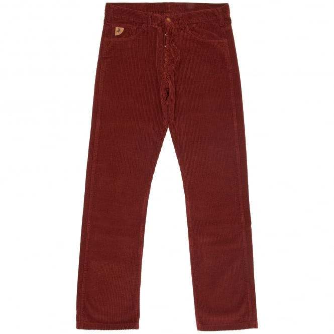 Lois Jeans Burgundy Dallas Jumbo Cord Trousers