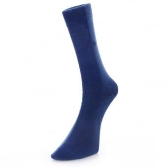 Burlington Dublin Blue Socks 20115