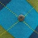 Burlington Socks Burlington Edinburgh Wool Marine Argyle Socks 21182 7306