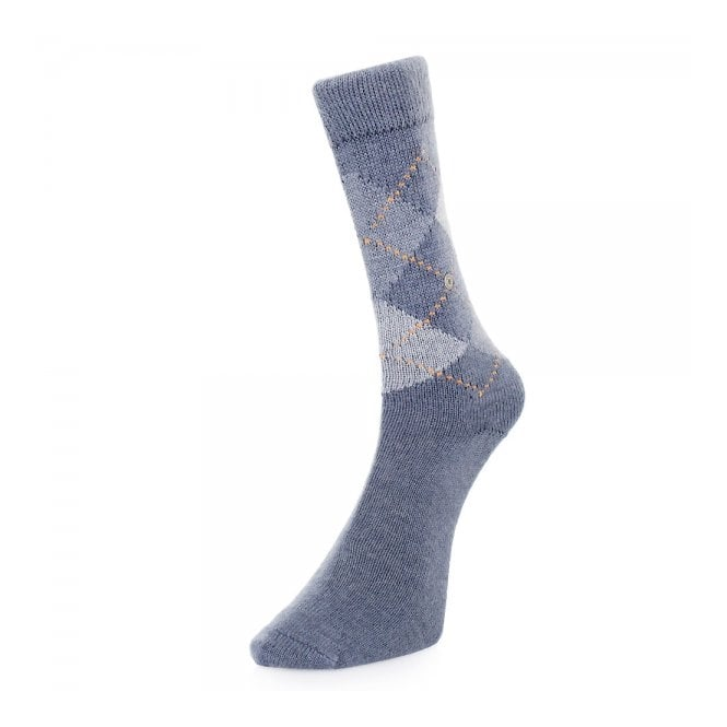 Burlington Socks Burlington Preston Argyle blue Socks 24284 6221