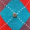 Burlington Socks Burlington Preston Argyle Sea Blue Socks 24284730S