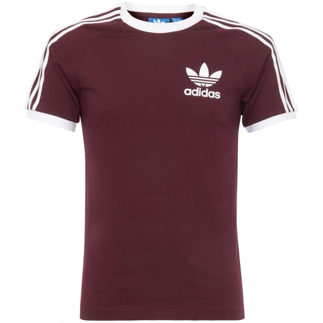 Adidas Originals California T-Shirt - Maroon