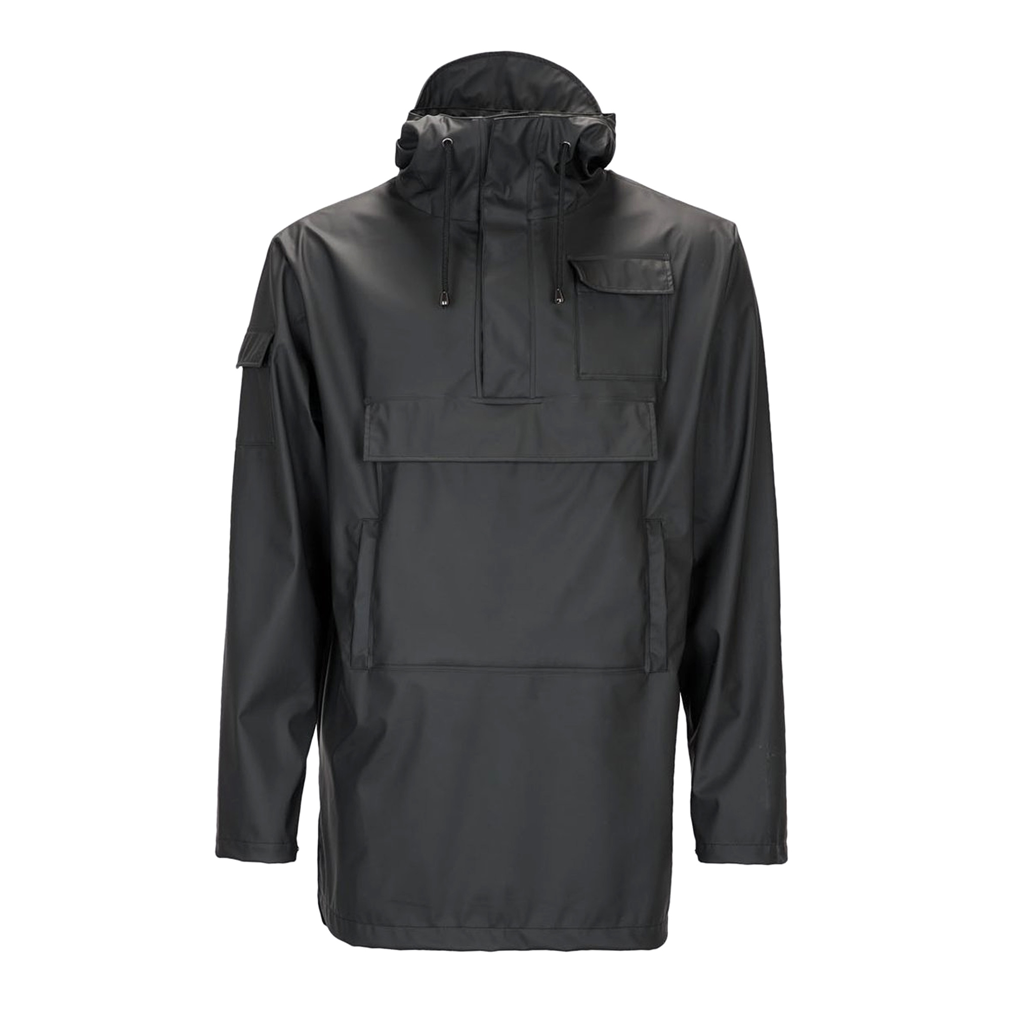 5890b7f0d Rains Camp Anorak | Black | 1242 | US Stockists