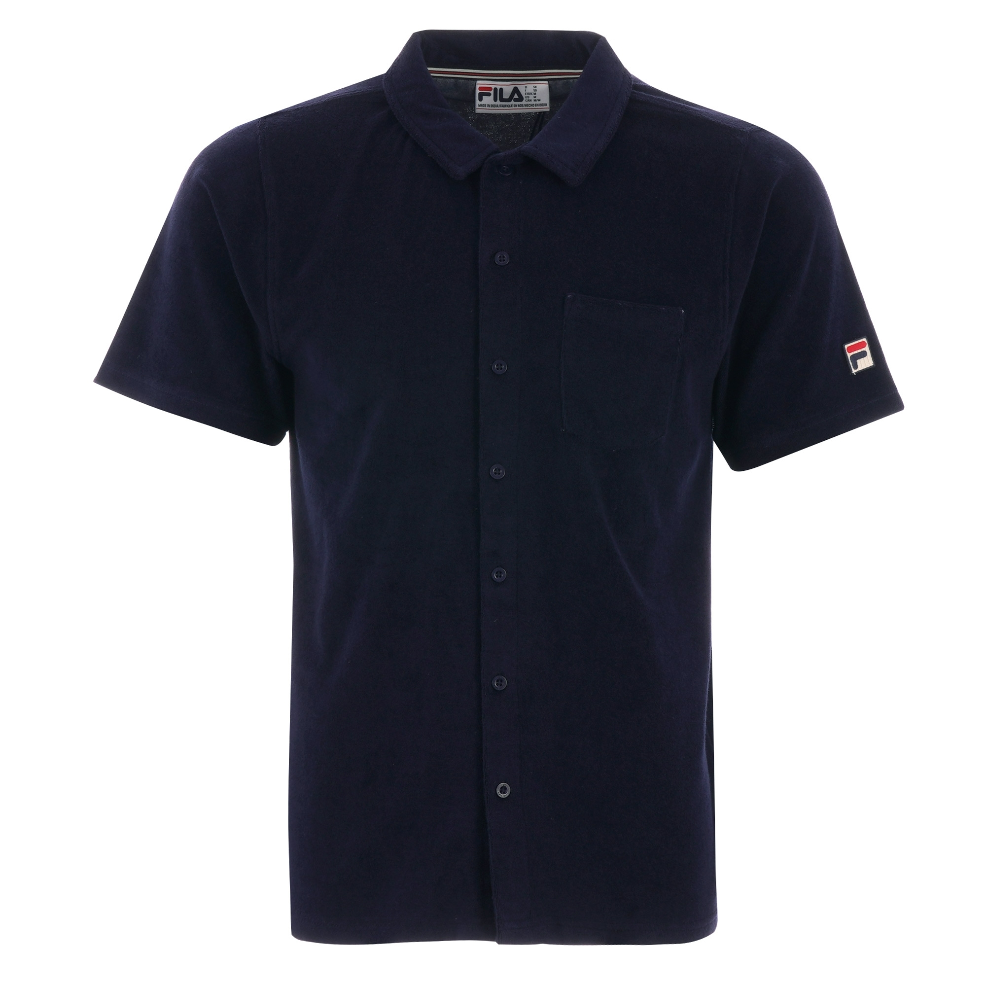d1e03e51b Fila Vintage Polo Shirt In Towelling | Top Mode Depot