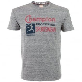 Champion Sportswear Grey Heather T Shirt D065F14 T002