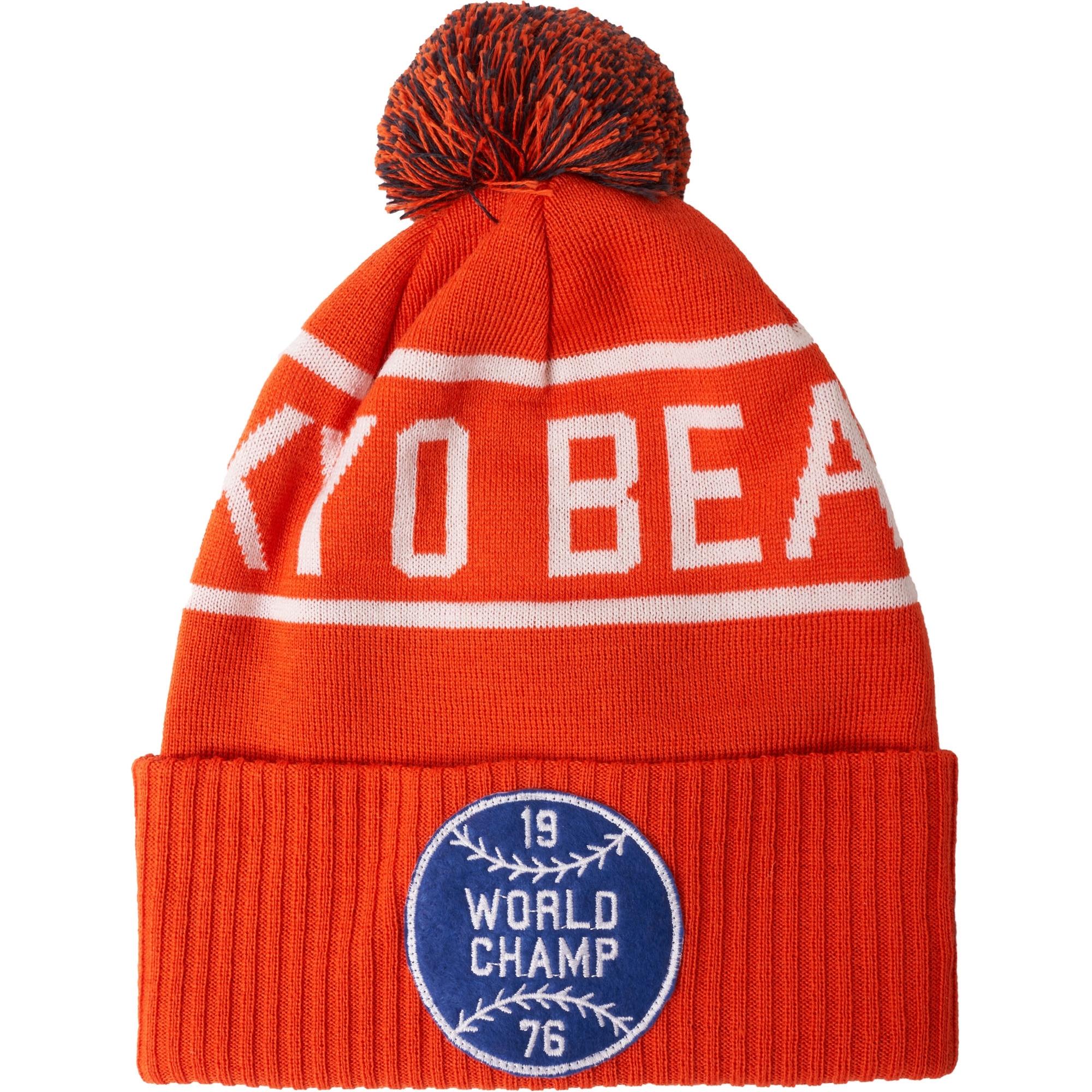 1710e7ff4e65a2 sweden champion logo beanie cap black footshop a76bb b0e21; get beanie hat  orange 7831e be13e