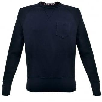 Champion X Todd Snyder Crew Neck Navy Sweatshirt D918X16