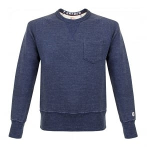 Champion X Todd Snyder Indigo Fleece Sweatshirt D918X65
