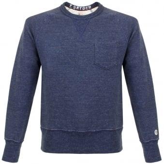 Champion X Todd Snyder Indigo Fleece Sweatshirt D918X65