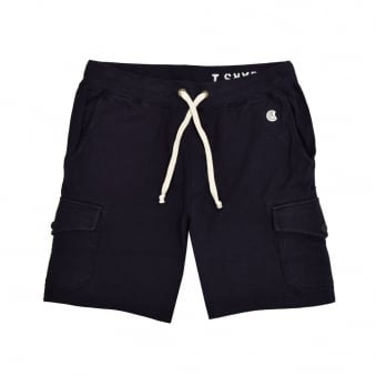 Champion X Todd Snyder Navy Cargo Sweat Shorts D535X16
