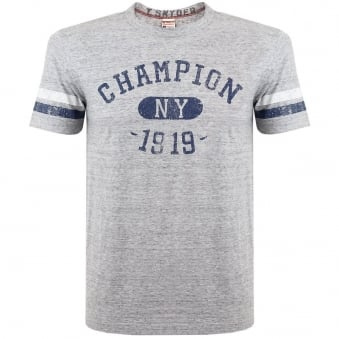 Champion X Todd Snyder NY 1919 Grey Heather T-Shirt D081A65