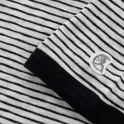 Champion X Todd Snyder Striped White T-shirt D449X66