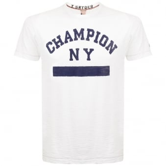 Champion X Todd Snyder White T-Shirt D021B65