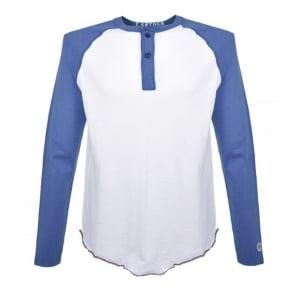 Champion X Todd Snyder White Wave Henley t-shirt D532X16