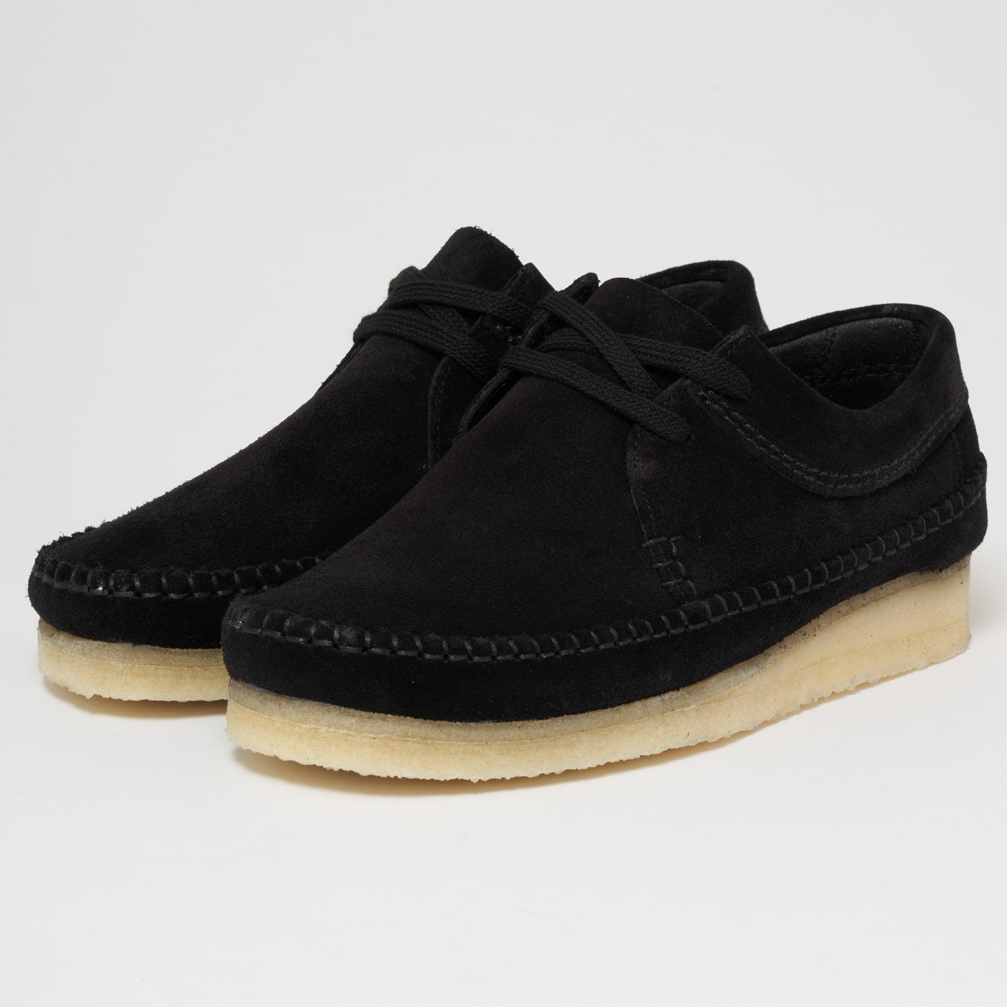 Weaver Black Suede Shoes