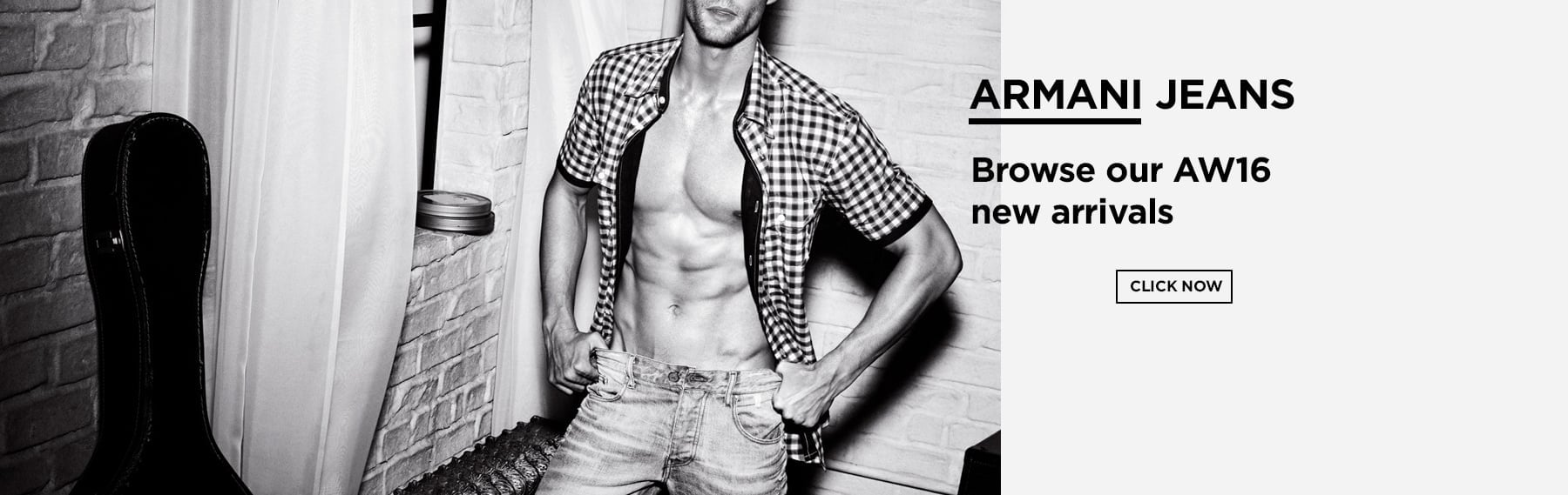 Armani Jeans View Full Collection Now
