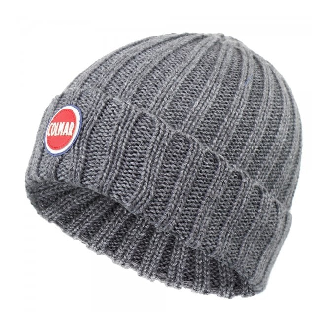 Colmar Originals Colmar Ribbed Grey Pull On Beanie 5096 8LO 21