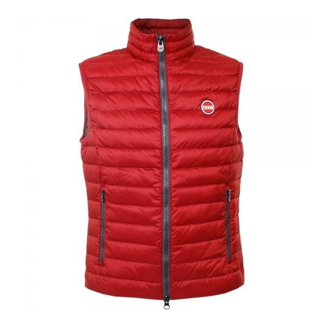 Colmar Originals Colmar Super Lightweight Red Padded Vest 1278N1MQ