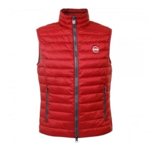 Colmar Super Lightweight Red Padded Vest 1278N1MQ