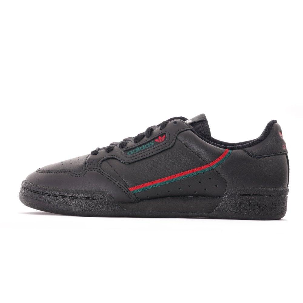 Adidas Originals Continental 80 - Black/Green/Red