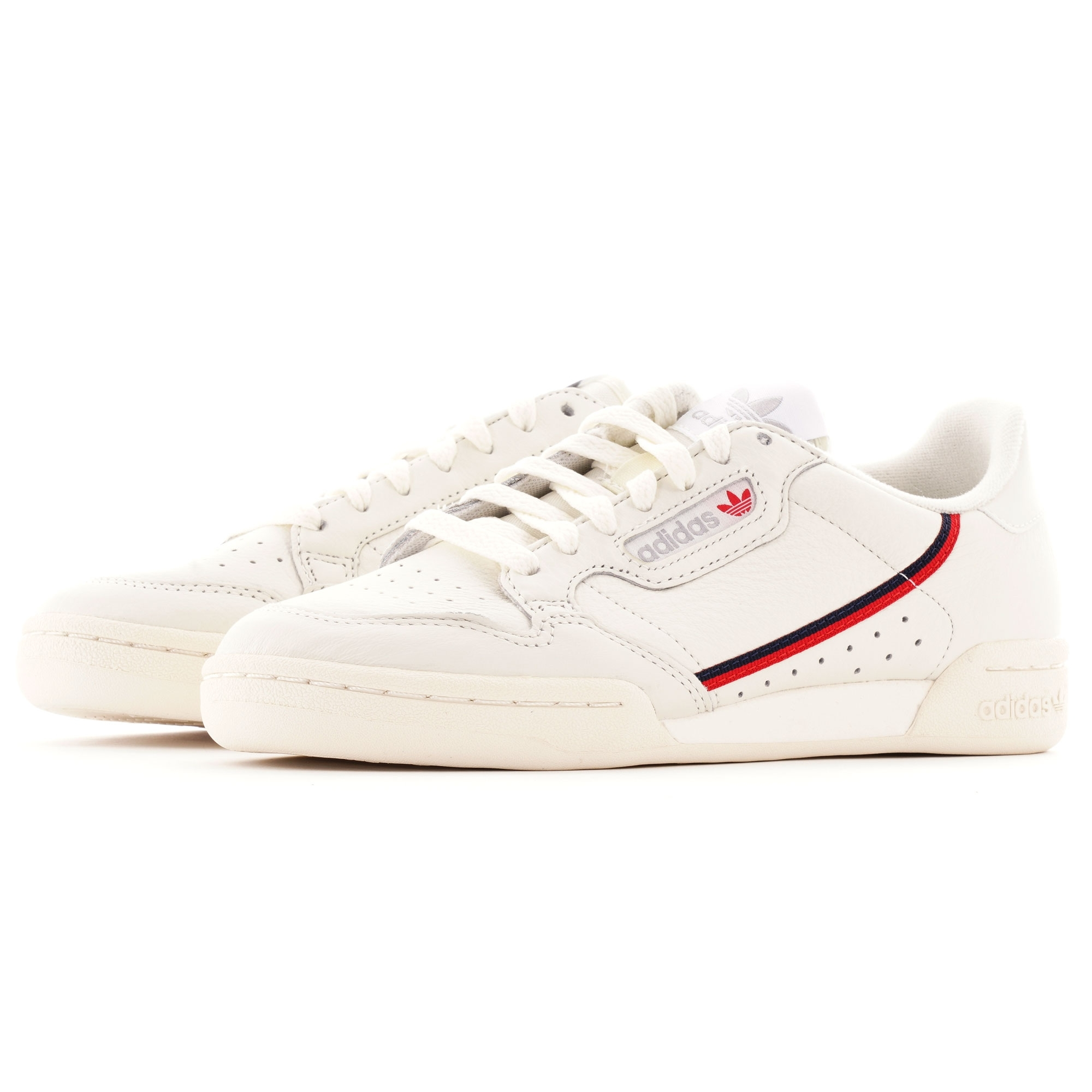 Continental 80 - Off White & Scarlet