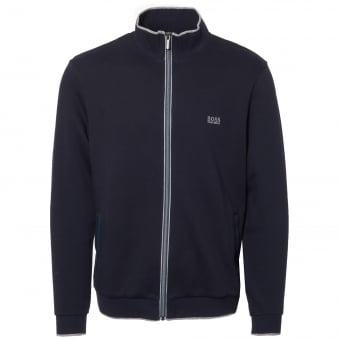 Dark Blue French Terry Jacket