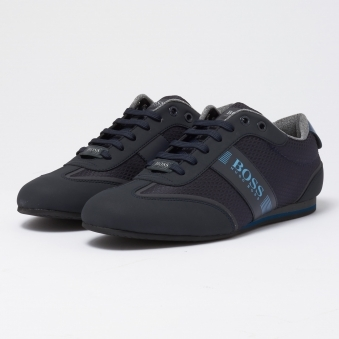 Dark Blue Lighter Lowp Tech Trainer
