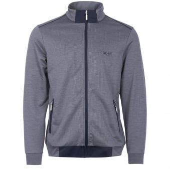Dark Blue Zip Up Track Top
