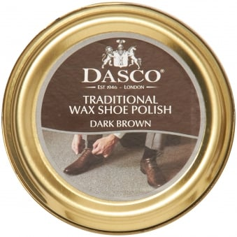 Dark Brown Wax Shoe Polish