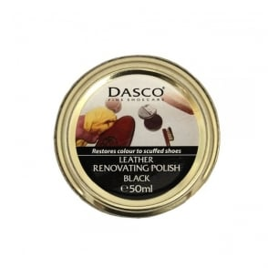 Dasco Leather Renovating Polish Black 3235