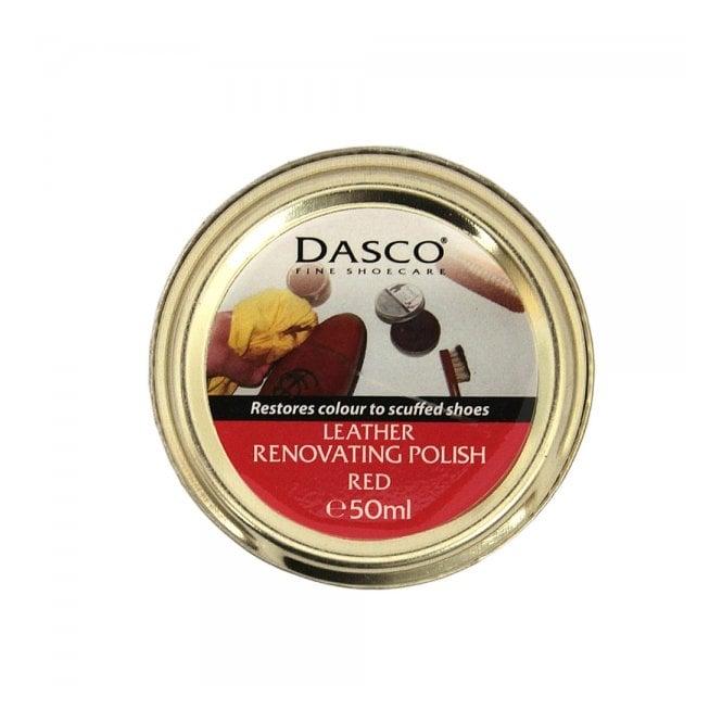 Dasco Leather Renovating Polish Red 3235