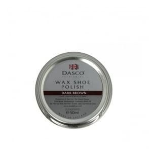Dasco Wax Shoe Polish Dark Brown