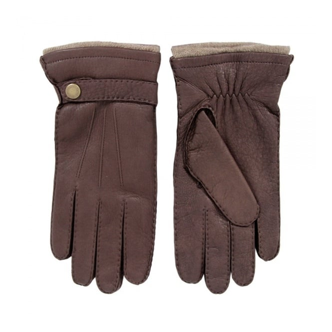 Dents Bark Deerskin Gloves 5-1548