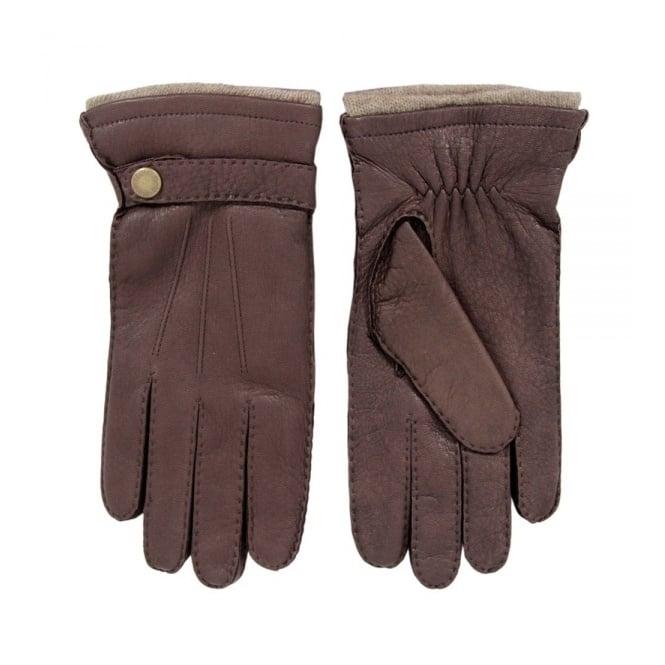 Dents Bark Deerskin Gloves 5-1548