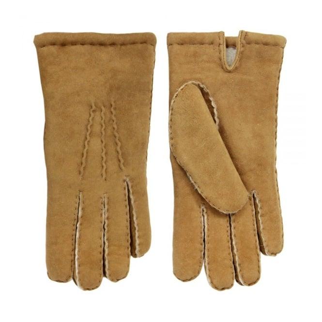 Dents Handsewn Camel Lambskin Glove 5-1553