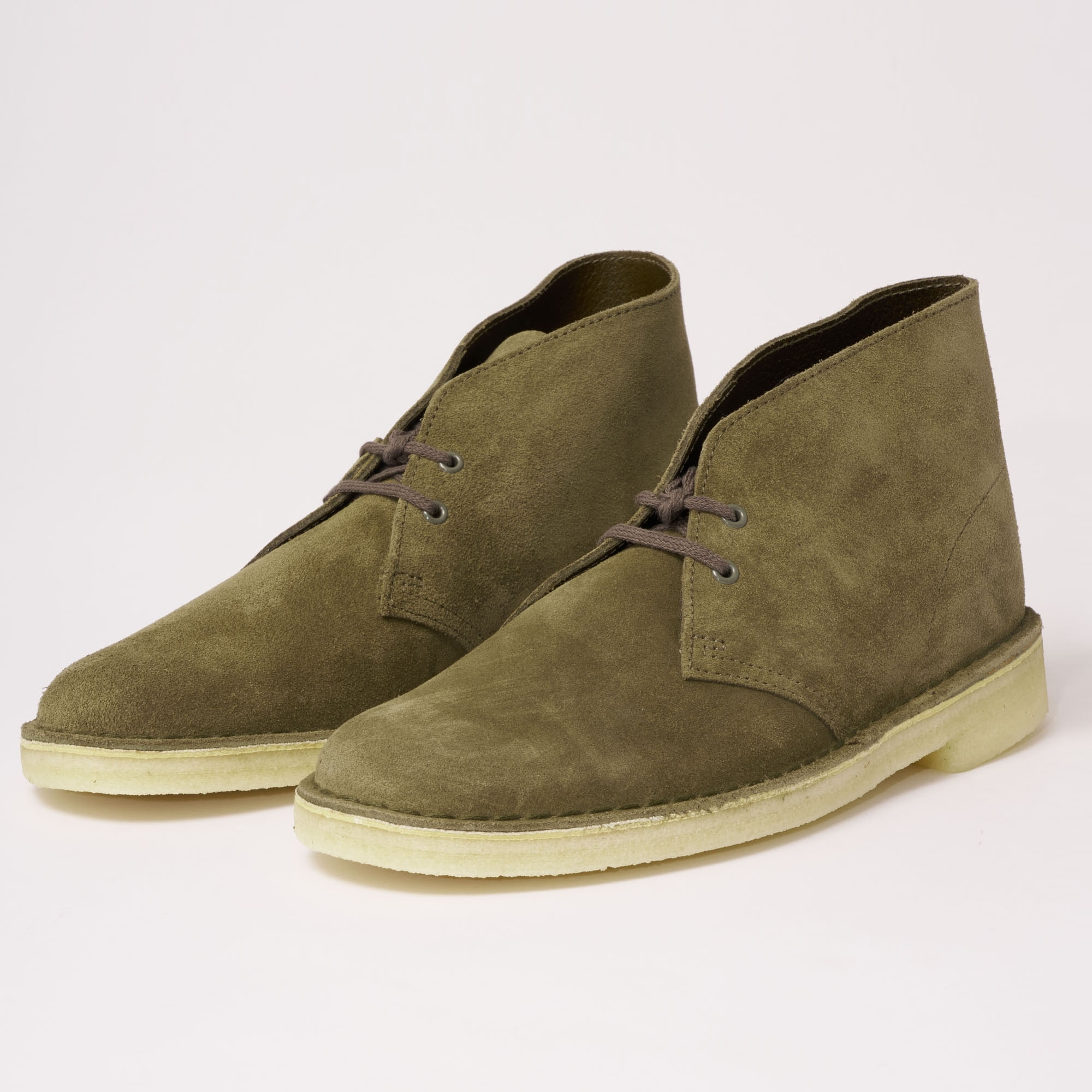 Desert Boot Olive Suede
