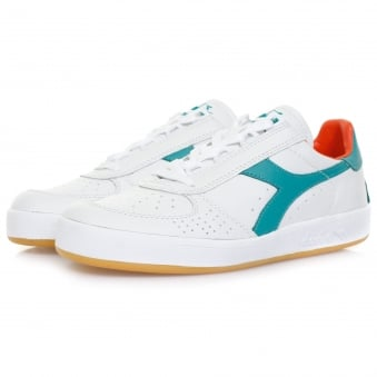 Diadora Borg Elite Italia White Porcelaine Green Shoe 501170532
