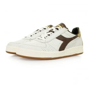 Diadora Borg Elite L White Shoes 20006