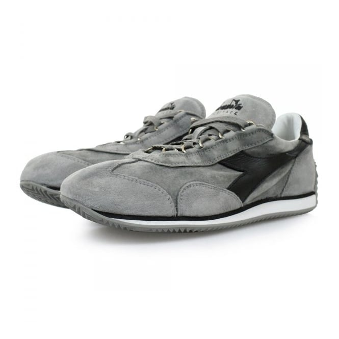 Diadora Heritage Diadora Equipe S SW Grey Black Shoes 201156552
