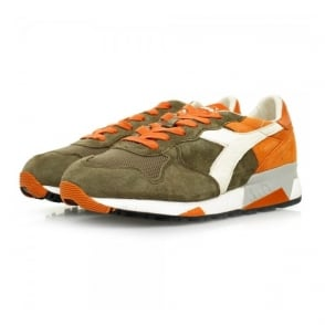 Diadora Heritage Trident 90 S SW Burnt Olive Shoes 161885