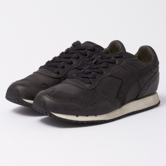 Diadora Heritage Trident Brogue L Black Shoes 80013