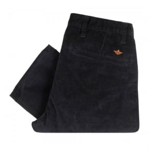 Dockers Alpha Tapered Black Corduroy Trousers 44715-0386