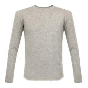 Edwin Terry Grey Marl Sweatshirt I017227